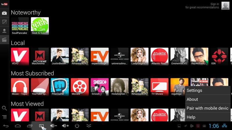 教你如何在您的电视、手机及平板上同步看Youtube
